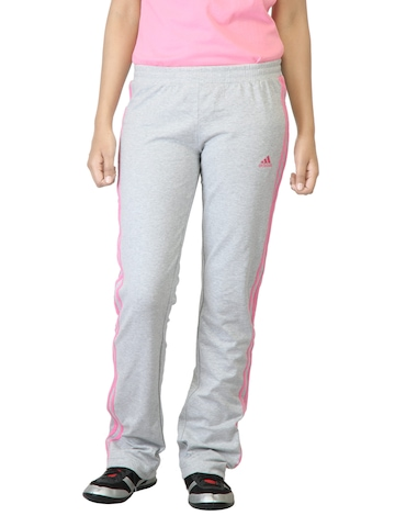 Adidas Women Grey Track Pants