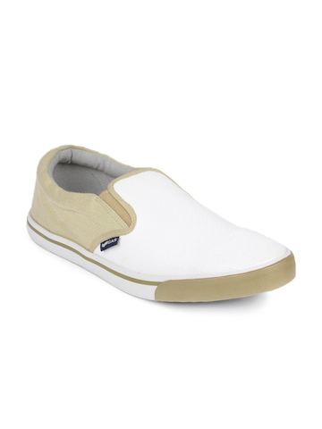 GAS Men White Casual Shoes