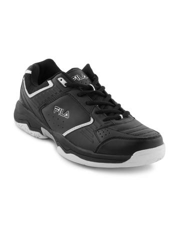 Fila Men Black Turf Sports Shoes