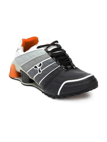 Spinn Men Abzorb X Black Shoes