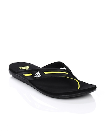 Adidas Men Calo Black Flip Flops
