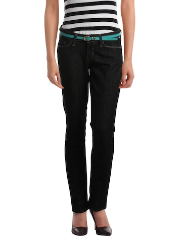 Denizen Women Black Jeans