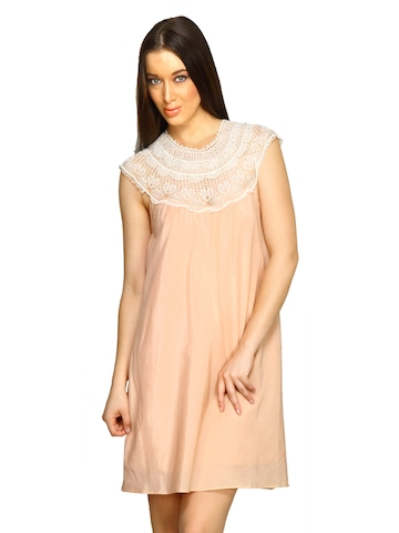 Forever New Women Peach Dress