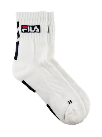 Fila Men White Socks
