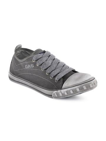 Gas Men Passtime Grey Casual Shoes