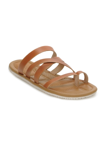Arrow Men Camel Brown Sandals