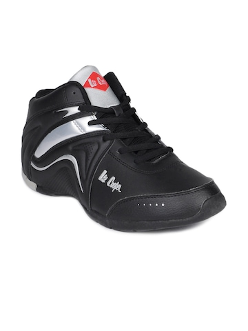 Lee Cooper Men Black Sports Shoes