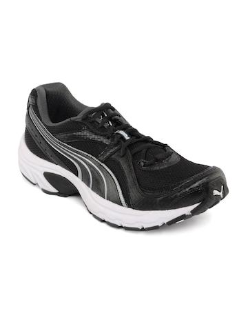 Puma Men Kuris Black Sports Shoes