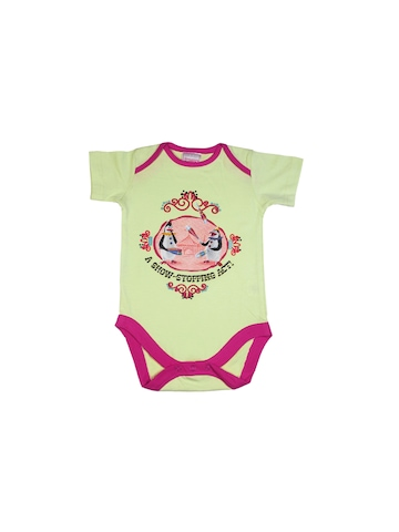 Madagascar3 Infant Girls Light Green Snapsuit Romper