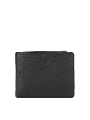 Peter England Men Black Wallet