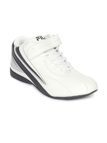Fila Men Zoom White Shoes
