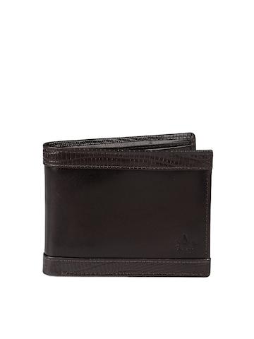 Arrow Men Brown Leather Wallet