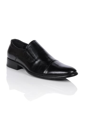 Homme Men Black Formal Shoes