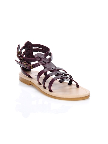 Enroute Teens Purple Sandals