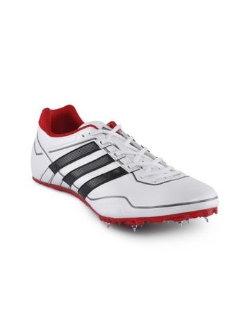 Adidas Men White Sprint Star Sports Shoes