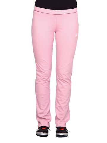 Adidas Women Pink Track Pants