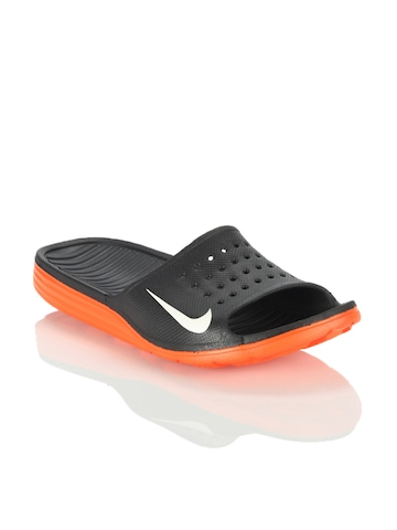 Nike Men Solarsoft Slide Black Sandals