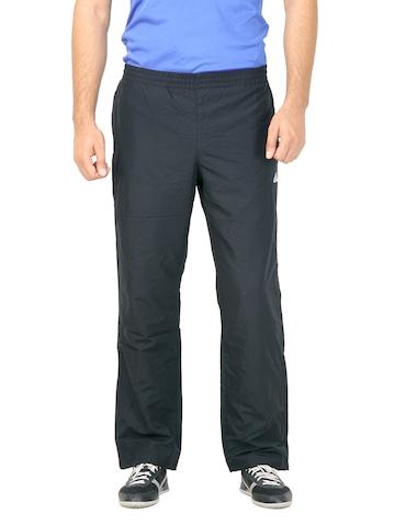 Adidas Men Solid Black Track Pant
