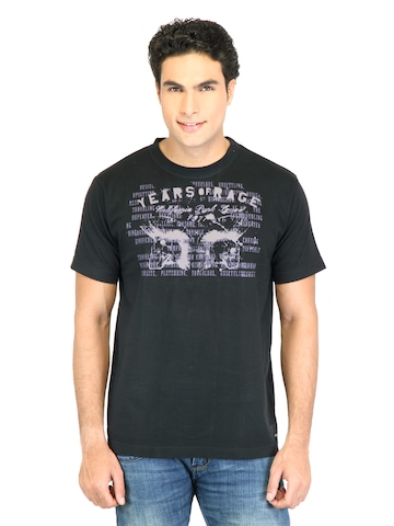Facit Men Smart Black Tshirt