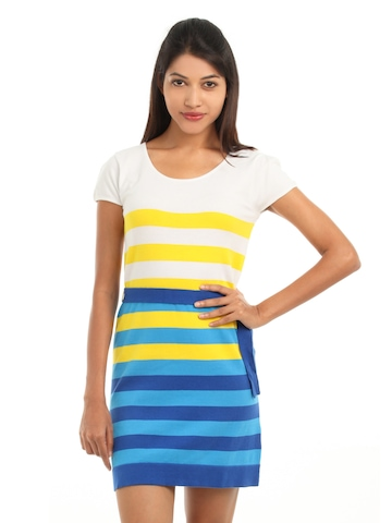 Wills Lifestyle Women Multi Coloured Dress