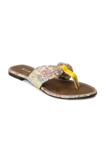 Rocia Women Casual yellow Sandal