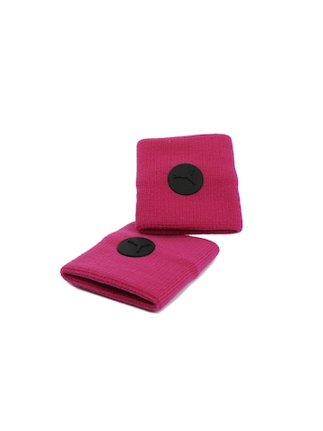 Puma Unisex Fundamentals Pink Wristbands