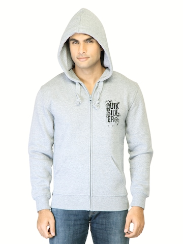 Quiksilver Men Grey Sweatshirt