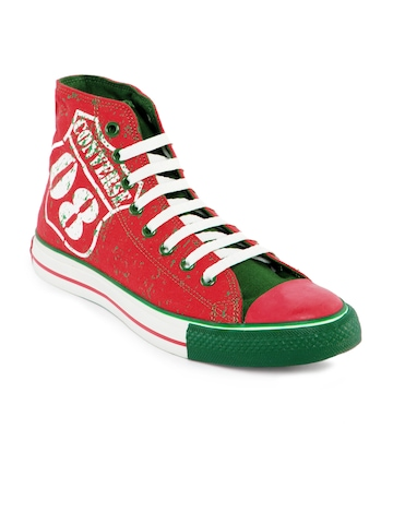 Converse Unisex Chuck Taylor All Stars Red Casual Shoes