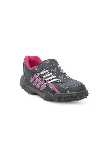 Footfun Kids Unisex Grey Shoes