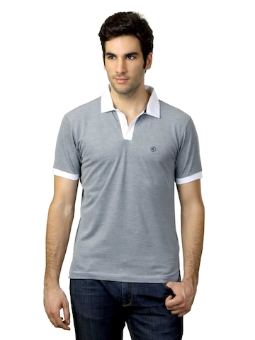 Arrow New York Men Grey T-shirt