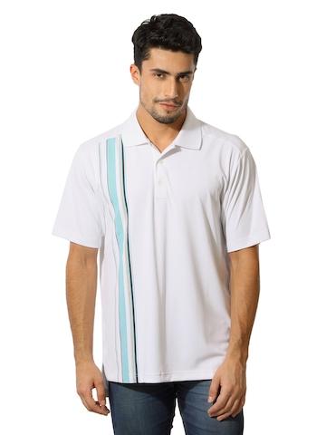 Adidas Men White T-Shirt
