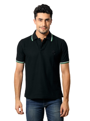 Classic Polo Men Black T-Shirt