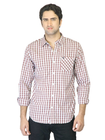 Timberland Men Red Claremont Check Shirt
