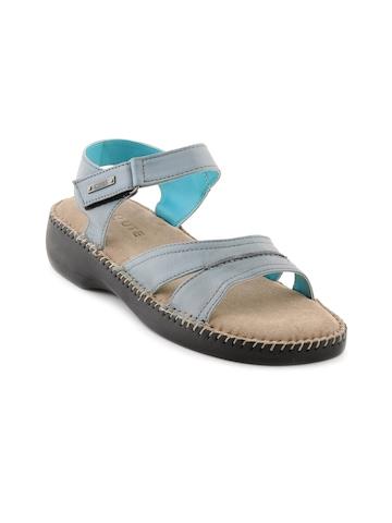 Enroute Women Casual Blue Flats