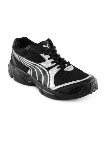 Puma Men Aquil Black Sports Shoes