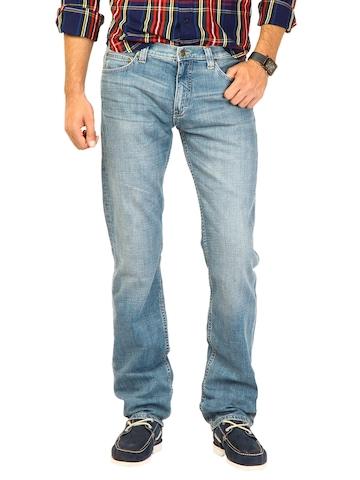 Lee Men Mickey Blue Powell Fit Jeans