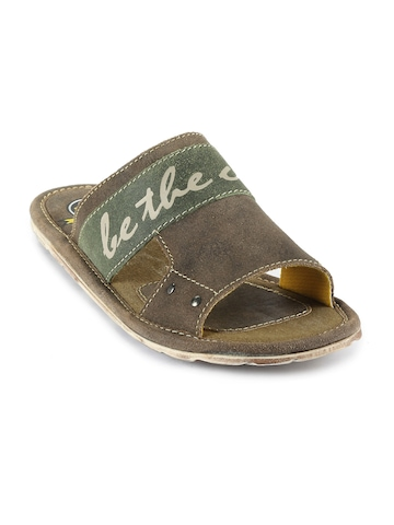 ID Men Brown Casual Sandal