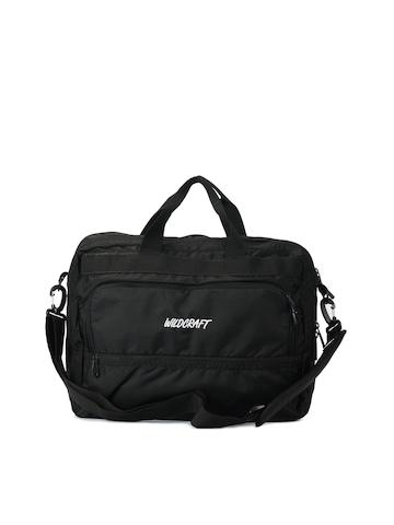 Wildcraft Unisex Gear for Life Black Laptop Bag