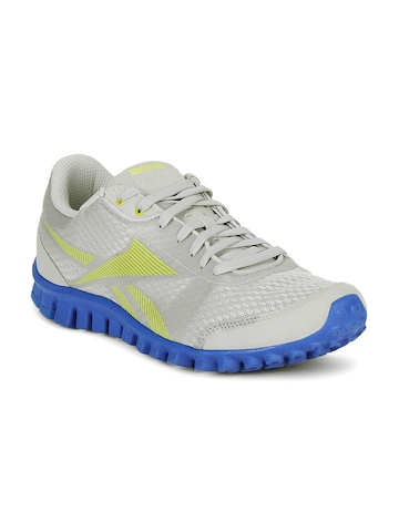Reebok Men Grey Realflex Optimal Sports Shoes