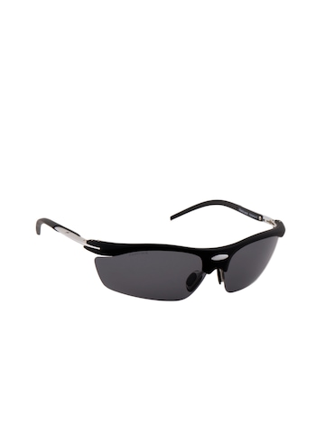 Fastrack Men Polarized Sporty Wrap Sunglasses