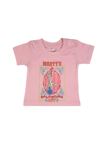 Madagascar3 Infant Girls Pink  T-Shirt