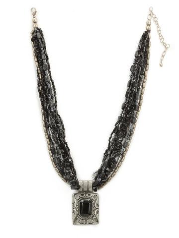 Adrika Women Black Necklace