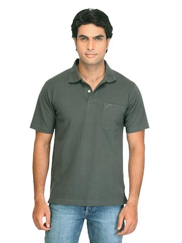 Proline Men Polo Pique Grey T-shirt