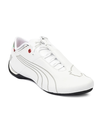 Puma Men White Future Cat Shoes