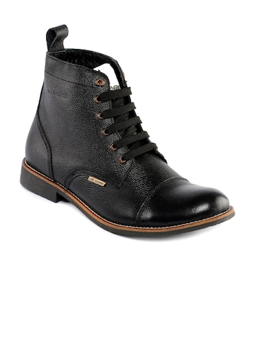 Lee Cooper Men Black Shoes