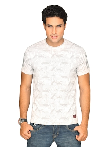 Adidas Men's Allover White T-shirt