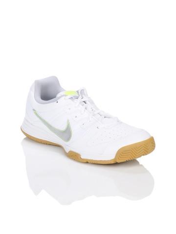 Nike Women Court Shuttle IV White Sports Shoes
