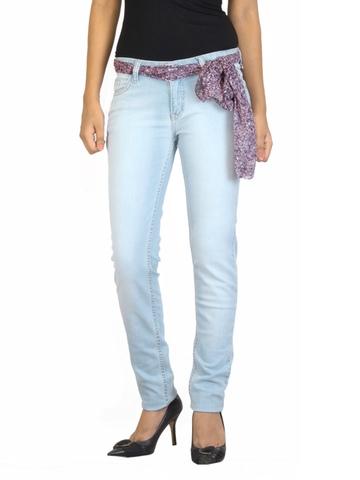 Jealous 21 Women Washed Blue Jeans
