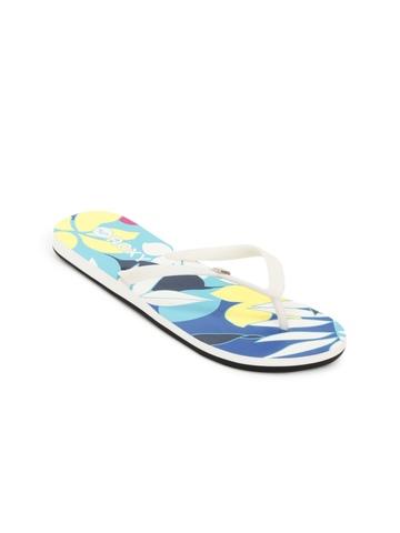 Roxy Women White Flip Flops