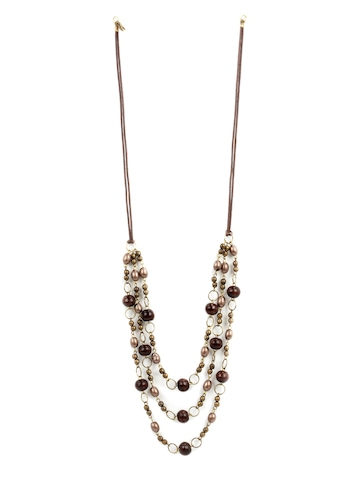 Adrika Brown Necklace